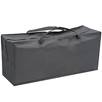 Patio Watcher Outdoor Chair Cushion Storage Bag, Grey : Garden & Outdoor