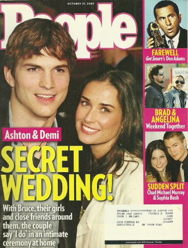 Ashton Kutcher and Demi Moore, Chad Michael Murray and Sophia Bush, Brad Pitt and Angelina Jolie, Don Adams (Get Smart) - October 10, 2005 People - Bush Sophia Gossip