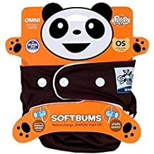Softbums Omni Shell with Snaps, Chocolate