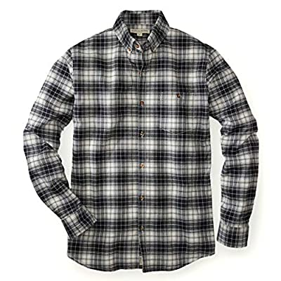 Hope & Henry Mens' Brushed Cotton Button Down