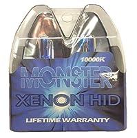 EuroDezigns 9005 Monster Blue Headlights - High Beam 10,000k Xenon-Krypton HID Halogen Replacement Bulbs - (Pair)