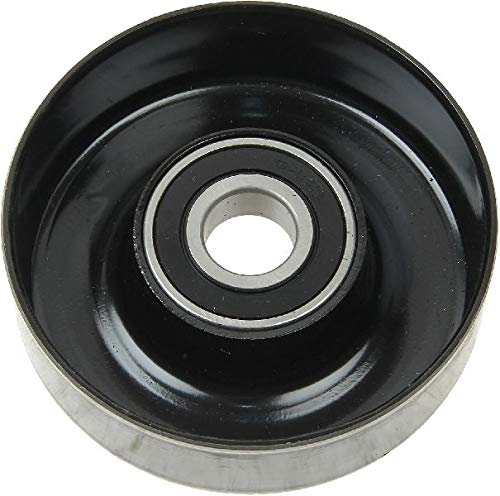OE Replacement for 1987-1992 Jeep Comanche Smooth Pulley Accessory Drive Belt Idler Pulley (Base/Chief/Eliminator/Laredo/Pioneer)