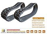 2pc Rubber Track 320x86x49 - BOBCAT T180 T190 T550 T590 T595 Skids Steer Loader