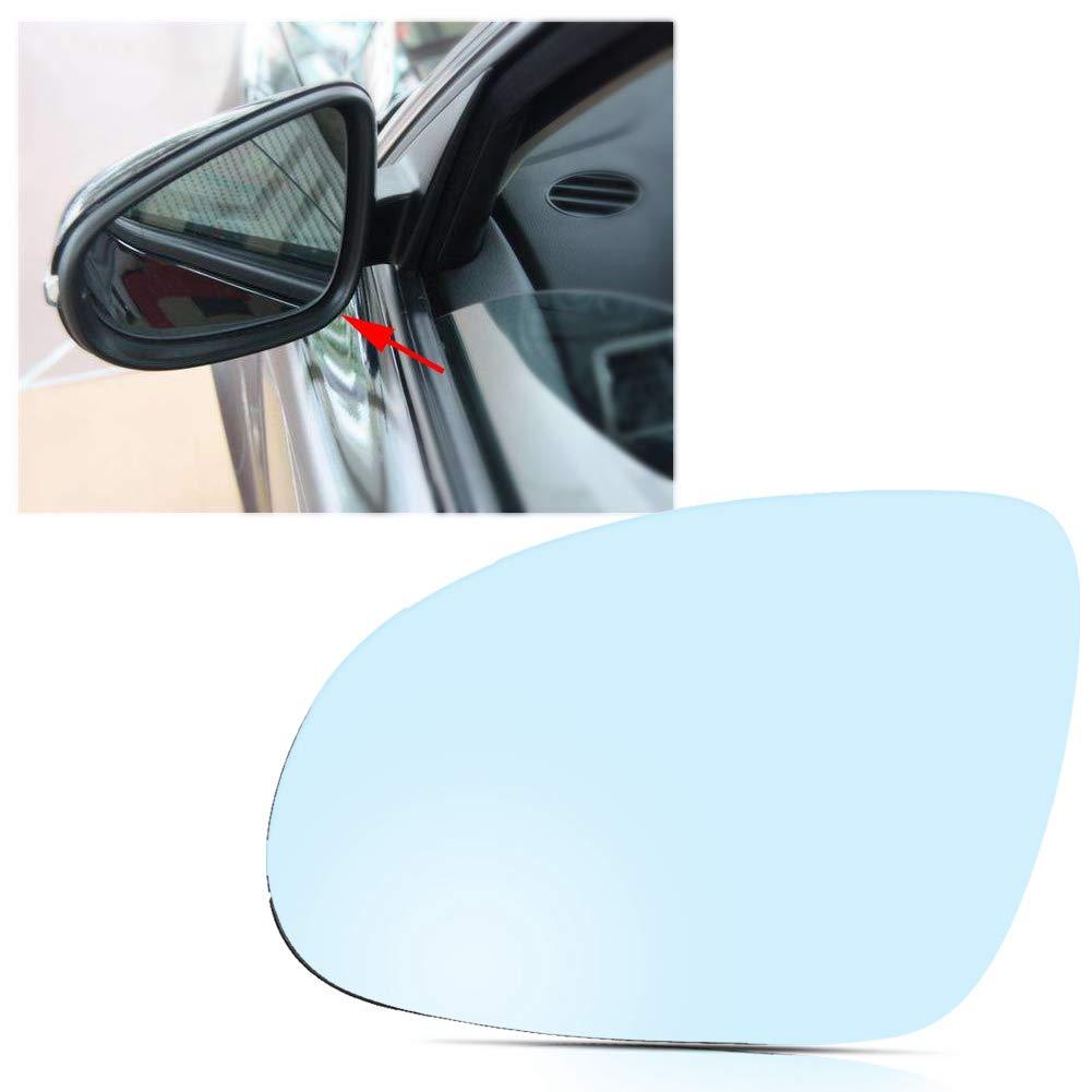 Vetro dello specchietto retrovisore esterno 1 pz Clip lato passeggero sinistro sul vetro dello specchietto retrovisore riscaldato