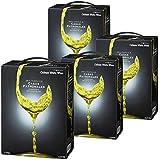 カサス・パトロナレス 白 バッグインボックス ワイン 白ワイン 4本セット 3000ml×4本 チリ