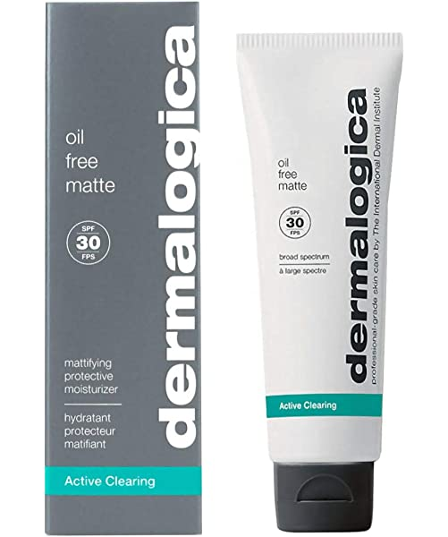dermalogica oil free matte spf 30 review