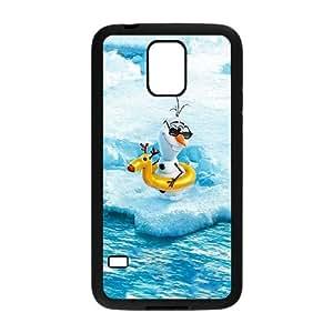 Olaf 001 funda Samsung Galaxy S5 Negro de la cubierta del teléfono celular de la cubierta del caso funda EOKXLKNBC18417