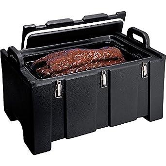 Amazon.com: Cambro 100 mpc110 Negro 100 Series térmica porta ...