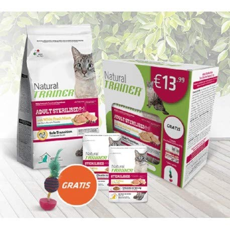 Natural Trainer Special Pack Adult Sterilised 1+ con carni