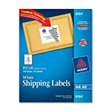 Avery Shipping Labels for Ink Jet Printers with TrueBlock Technology, 3.33 x 4 Inches, White, Pack of 150 (08164), Office Central