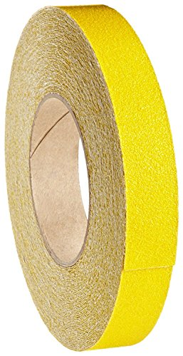 X 60' Foot Roll of Safety Yellow Adhesive Anti Slip Non Skid Abrasive Tape 3335-1 (Nebula Ski Goggles)