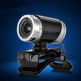 Webcam for Desktop / Gotd USB 2.0 50MP HD Camera Webcam Web Cam Clip-on 360 Degree , Video Calling, Desktop or Laptop Webcam