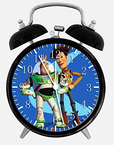 Toy Story Woody Buzz Twin Bells Alarm Desk Clock 4