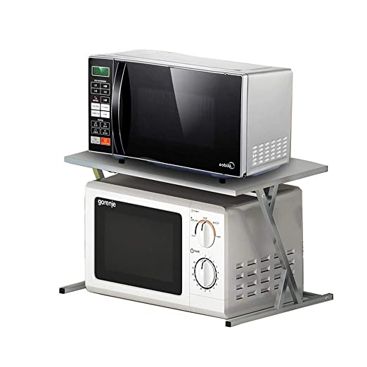 DJZWJ Estantería de Pared Rack de Almacenamiento Cocina Horno de ...