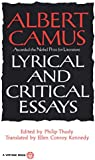 Lyrical and Critical Essays (Vintage International)