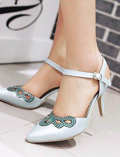 LFNLYX Zapatos de mujer-Tacón Stiletto-Cuñas / Tacones / Comfort / Innovador / Puntiagudos / Botas a la Moda / Zapatos y Bolsos a Juego- Pink