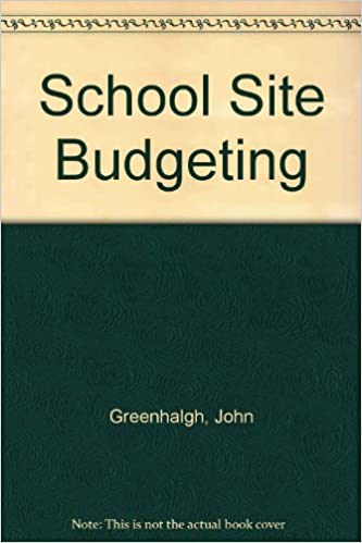 school site budgeting john greenhalgh 9780819137746 amazon com books