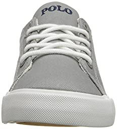Polo Ralph Lauren Kids Scholar Fashion Sneaker (Toddler/Little Kid/Big Kid), Grey, 8 M US Toddler