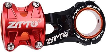 ZTTO Aluminium Bicycle Handlebar Stem 0° Rise DH Stem Mountain Bike Short Stem