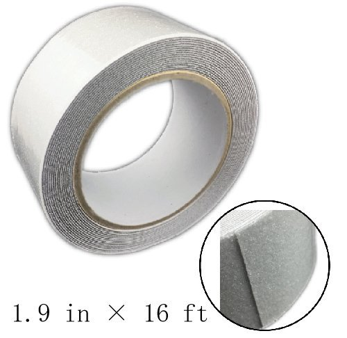 Anti Slip cinta, safety-Walk tina y ducha Bandas de rodadura, transparente, 1.9-inch X 4,9m (50mm x 5m), Non Skid tina...