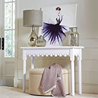 Brylanehome Matahari Console Table (White,0)