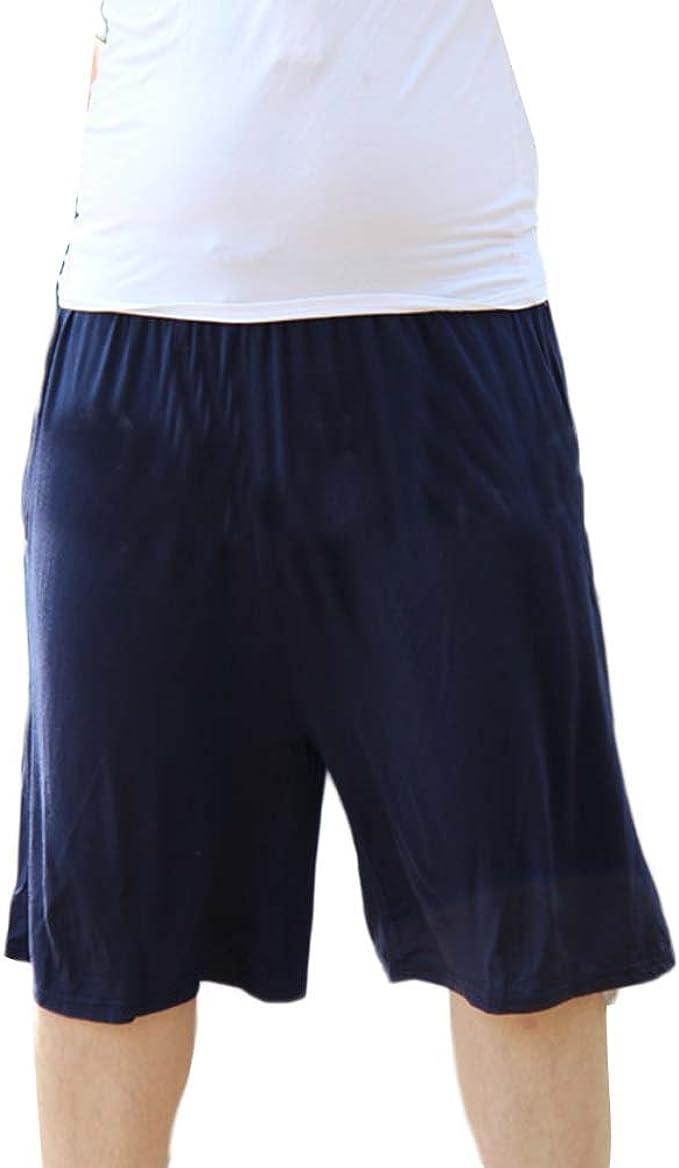 Pantalón Corto De Pijama para Hombre Pantalones Cortos Shorts Ropa De Dormir para Dormir Tiempo Libre Talla Grande: Amazon.es: Ropa y accesorios