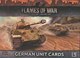 Flames of War: Late War: German Unit Cards