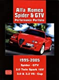 Alfa Romeo Spider and GTV Performance Portfolio, 1995-2005, R. M. Clarke, 1855207044