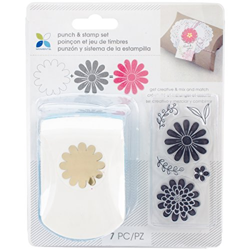 Momenta 29555 Flower Punch   Clear Stamp Set