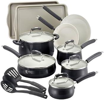 Paula Deen 17-Pc Cookware Set w/Bakeware