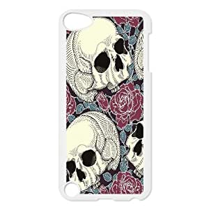Patterned Skull Snap-on Hard Back Skins Hard Case Cover FOR Ipod Touch 5 AKG266666