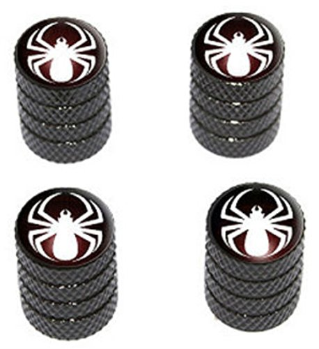 4-count-cool-and-custom-diamond-etching-spiderman-symbol-top-with-easy-grip-texture-tire-wheel-rim-a
