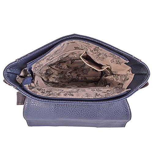 Bags Body Flap Handbag Celeb Style Bag Nice Bag Over 431 Cross LeahWard PURPLE Ladies Shoulder Button Women's wIqM4Bp