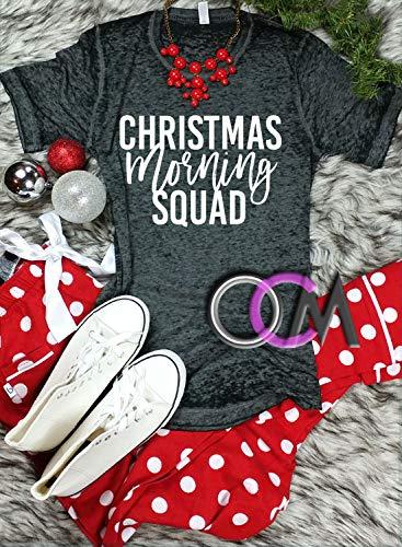 a179e50f8254b Amazon.com: Christmas Morning Squad, Squad Shirts, Family Christmas ...
