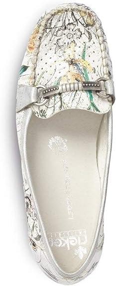 Rieker Femme Chaussons et Mocassins 40055, Dame Chaussures à