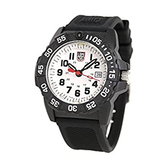 9a2c22255c [ルミノックス]LUMINOX 腕時計 ネイビーシールズ 3500シリーズ ホワイト×ブラック 3507 メンズ [並行