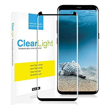 Galaxy S8 Plus Screen Protector, ClearLight 3D Screen Tempered Glass
