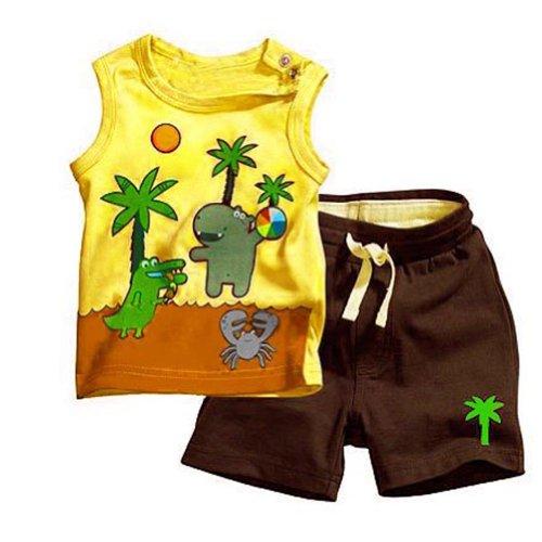 PanDaDa Sleeveless T shirts Blouse Yellow