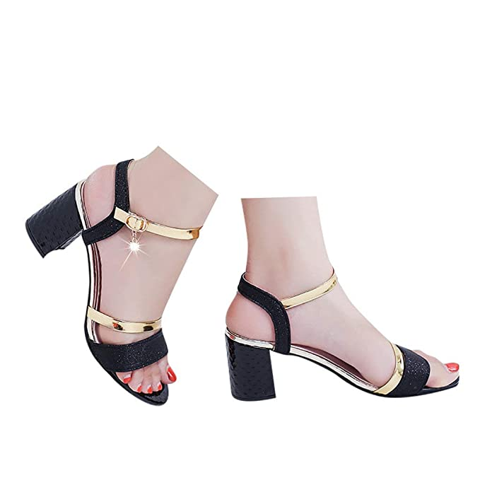 e0ebec4f4e8 Amazon.com: Veodhekai Womens High Heel Platform Sandals Pumps Bucket ...