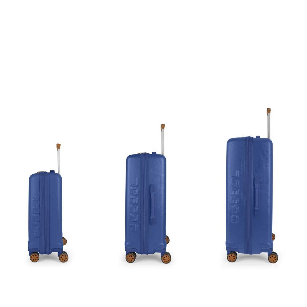 Gabol Set Trolley Cabina Grande Mosaic Azul Mediano