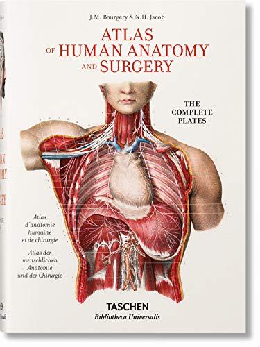 Jean Marc Bourgery. Atlas of Human Anatomy and Surgery (Bibliotheca Universalis) --multilingual