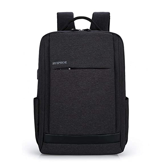 Amazon.com: Men Backpack Business Waterproof Notebook Computer School Bags 15.6 Inch USB Charge Travel Laptop Bag: Clothing