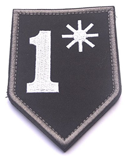 1* ONE ASS TO RISK ASTERISK ASSTERISK BADGE US ARMY MORALE TACTICAL VELCRO PATCH