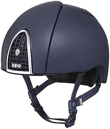 KEP Helmet - Cromo Jockey Skull Navy: Amazon.es: Deportes y aire libre