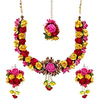 YouBella Traditional Jewellery Jewellery Set for Women (Multi-Colour) (YBNK_5579)