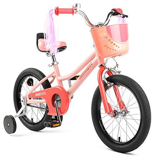 Retrospec Koda Kids Bike with Training Wheels, 16