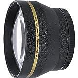 HDStars 62mm Telephoto Conversion Lens For Nikon, Sony, Samsung, Sigma, Fujifilm, Fuji, FUJINON, Tamron, Tokina, Pentax, Carl Zeiss Lens (Fits Lenses With 62MM Filter Thread)