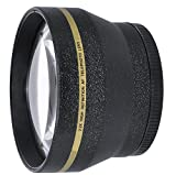 HDStars 62mm Telephoto Conversion Lens For Nikon, Sony, Samsung, Sigma, Fujifilm, Fuji, FUJINON, Tamron, Tokina, Pentax, Carl Zeiss Lens (Fits Lenses With 62MM Filter Thread)