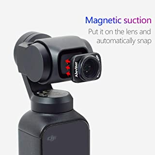 ETbotu Mini obiettivo grandangolare portatile per DJI OSMO Pocket Wide Angel Camera Lens per DJI OSMO Pocket Handheld PTZ Camera