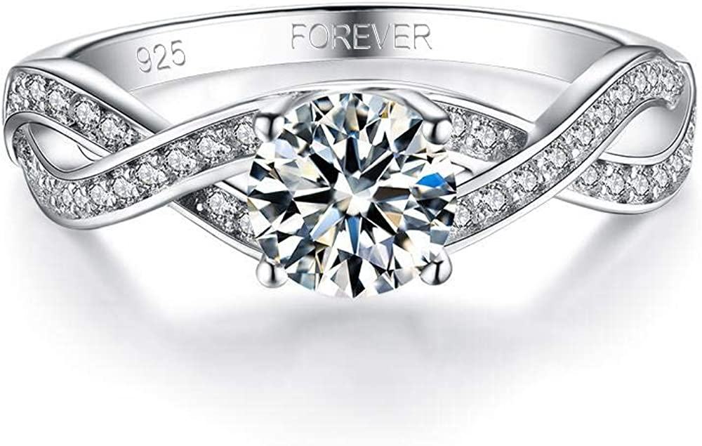 Solitaire Silver 925 ring Wonderful for Anniversary or Birthday gift